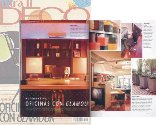 Oficinas con glamour!