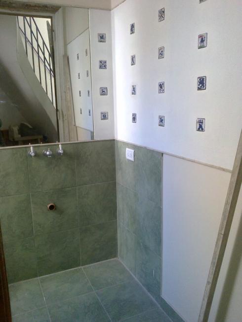 Toilette con tocetos.