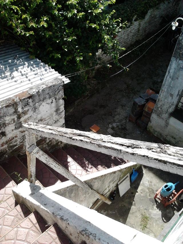 Desde terraza unidad Tres hacia patio posterior.