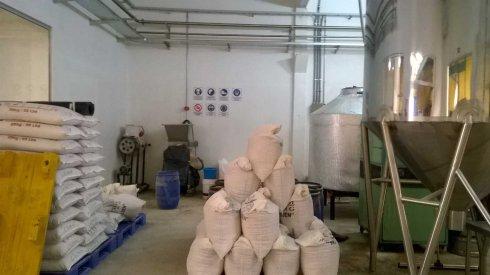 Sector de molienda de maltas